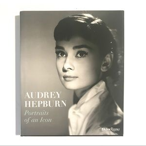 Rizzoli Accents - Audrey Hepburn Portraits of an Icon Hardcover Book